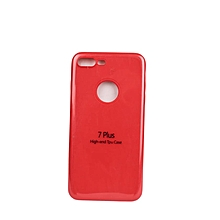 iPhone 7 Plus Silicon Case - Red