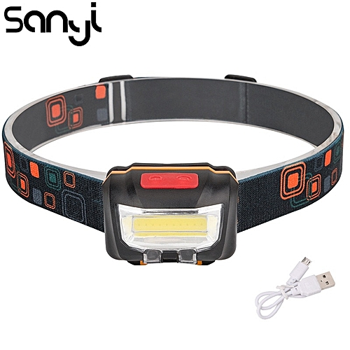 Camping & Outdoor LED Head Torch Headlight Lamp CE Camping Induction Headlamp USB Rechargeable #U