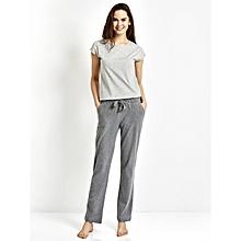 Grey Standard Female Pajamas Bottom