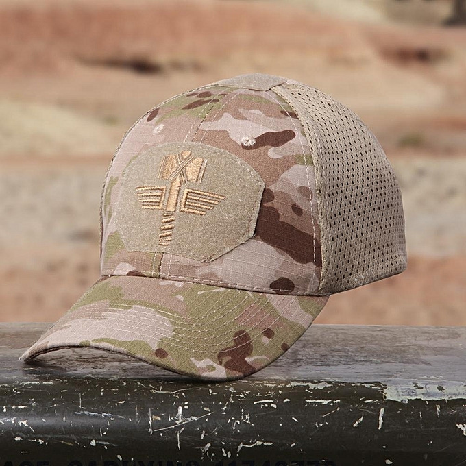3f2b8902905 Multicam Camo Outdoor Tactical Cap Military Hunting Hiking Baseball Hat 4  Colors