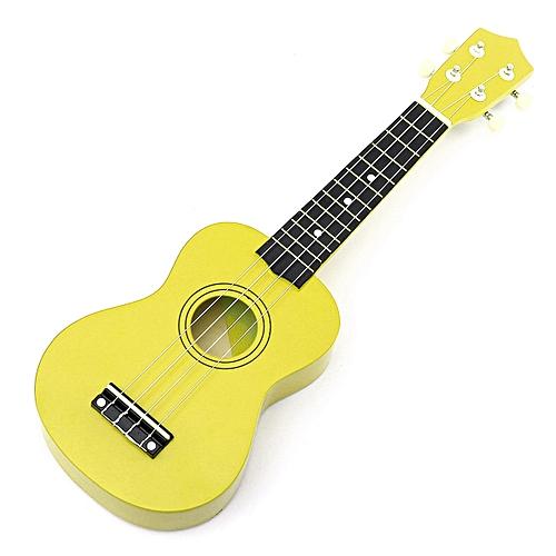 Generic 21'' Ukulele Mini Acoustic Soprano Guitar 4-String Musical Instrument Basswood