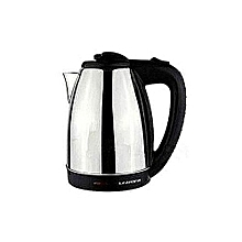 Kettle (Electric) - 1.8L - Cordless - Silver & Black