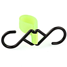 High Adhesion Solid Color Babies Stroller Household Hook - Yellow