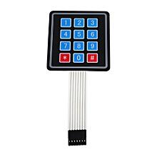 New 4 x3 12 Key Matrix Array Membrane Switch Keypad Keyboard For Arduino