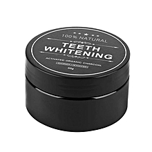 Activated Teeth Whitening Charcoal Powder, Organic Charcoal Bamboo Natural Teeth Whitener - 30G