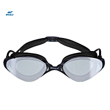 Anti-fog Underwater Goggle Protective Eyeglasses Swimming Tool - Black