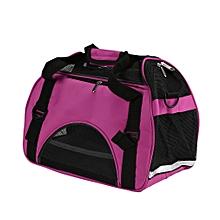 Pet Dog Outdoor Carrier Travel Single Shoulder Bag Breathable Mesh Handbag