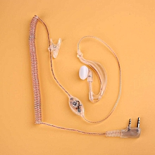 Transparent Hanging Headphones Headset For Baofeng UV5R 888S Walkie Talkie