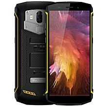 BV5800 PRO 4G Phablet Android 8.1 5.5 inch MT6739 Quad Core 1.5GHz 2GB RAM 16GB ROM 13.0MP + 0.3MP Rear Camera IP68 Water-proof 5580mAh Built-in Wireless Charging - YELLOW