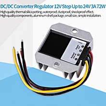 DC-DC 12V To 24V 3A 72W Voltage Step Up Module Boost Power Supply Converter