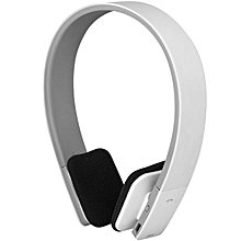 Bluetooth Headset Noise Reduction 12 Hrs Talking - White