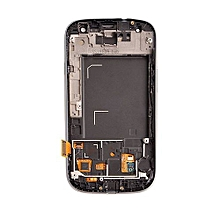 Lcd Screen With Frame Touch Screen Lcd Display Complete Screen Assembly Replacement Parts White For Samsung Galaxy I9300