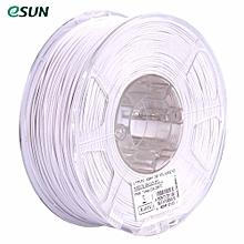 eSUN ABS+ 1.75mm ABS 3D Printer Filament 1kg Spool (2.2lbs) Consumables Material Refills White