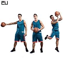 Customized Pocket Men's Basketball Team Sports Jersey Uniform-Green(7301)
