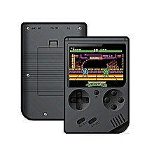 Handheld Game Console, Game Console 3 Inch 168 Games Retro FC Game Player Classic Game Console 1 USB Charge, Birthday Presents For Children - Black