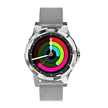 DI03 Plus - Smart Watch With Milanese Strap Call Reminder For Android & IOS - Sliver