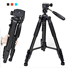 ZOMEI Q111 Portable Travel Aluminum Tripod with Six Color Light