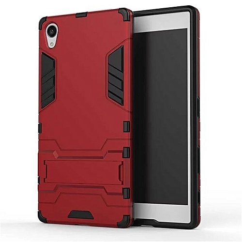 super popular e6ed2 bba33 For SONY Xperia Z5 Premium Case Luxury Hybrid Silicone Iron Man Armor Case  Cover For Sony Z5 Premium Full Protect Phone Housing Shock Protection Back  ...