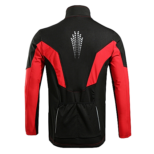 5c4e5a644 Generic TOMSHOO Men s Winter Thermal Fleece Cycling Jacket Outdoor Sport Long  Sleeve Windproof Coat MTB Bike Bicycle Riding Clothes Sportswear