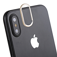 Rear Camera Lens Protection Cover for iPhone X (Gold)