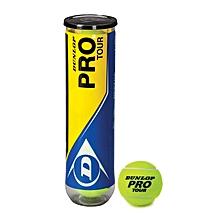 Pro Tour Tennis Balls - Yellow