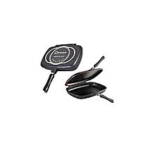 Dessini Aluminum Two-Sided Double Grill Non-stick Pressure Pan .