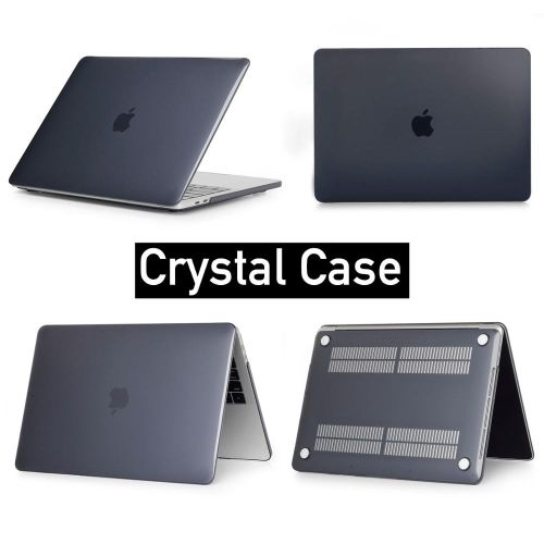 Hot,Matte crystal Laptop Case For Macbook Pro Retina Air 11 12 13 15 inch  ,2019 for mac new Air/pro with Touch ID cover shell   (model A1502