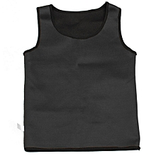 Neoprene Body Shaper Men Slimming Vest Thermo Sweat Sauna Waist Trainer Belt XL