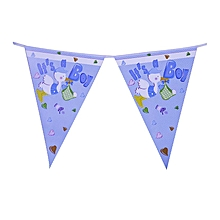 It's a  Boy Shower Bunting Banner - 10 Pieces