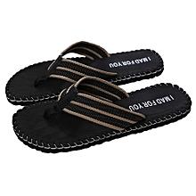Men Summer Shoes Sandals Male Slipper Indoor Or Outdoor Flip Flops BK/40