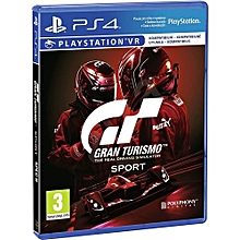 PS4 Gran Turismo Sport - The Real Driving Simulator