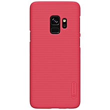 NILLKIN Frosted Shield Hard PC Phone Case for Samsung Galaxy S9 Red