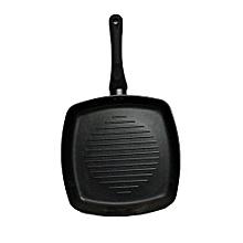 Square Non-Stick Pan - 26cm - Black