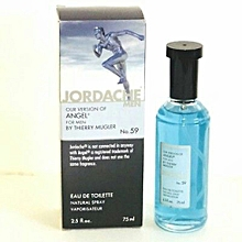 Jordache Our Version of Angel Cologne for Men by Thierry Mugler 2.5 Oz 75ml