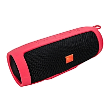 Speaker For  JBL charge3 Bluetooth Speaker Portable Mountaineering Silicone Case-Red