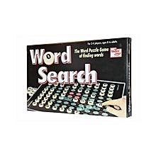 Word Search - Blue & Black