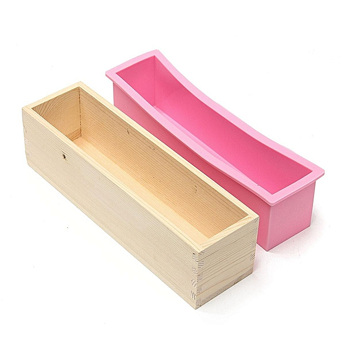 Buy Generic Wooden Handmade Silicone Soap Mold Box Toast Loaf Mold