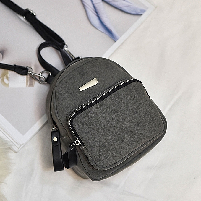 ... Hiamok Women Fashion Casual Ladies Candy School Style Solid Student  Mini Backpack GY bfdcf0d8365f2