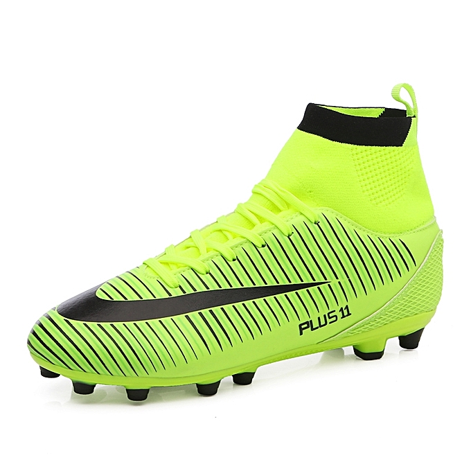 c3f1f6a6b Men Soccer Shoes Football Boots Soccer Cleats Boot Shoes Sports Shoes  Outdoor Indoor Soccer Training Shoes
