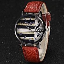 Lady  Leather Wrist Watch Zhoulianfa 2017 Fashion Luxury Women Quartz Leather Wrist Watch -Pink