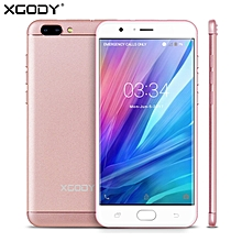 "5.5"" 4G D18 16GB Android 6.0 13MP un-locked Dual SIM Smartphone Cell Phone GPS-rose gold"