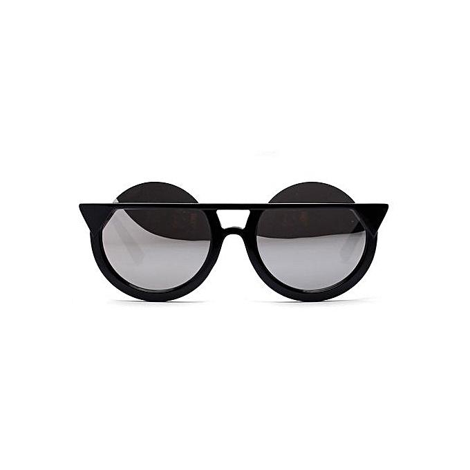 Buy Fashion Fohting Women Vintage Cat Eye Sunglasses Retro Oval ...