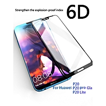 COOHO Huawei P20/P20 Lite/Nova 3E 6D Screen Protector 9H Hardness HD Screen Film    HUAWEI P20 LITE    black