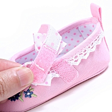Baby Infant Kids Girl Soft Sole Crib Toddler Newborn Shoes PK/1