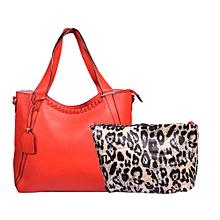 Red 2 in 1 Handbag
