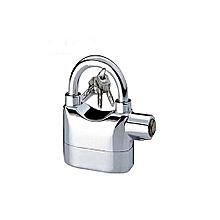 Generic Alarm Security Padlock - Silver