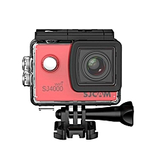 SJ4000 WiFi 1080P 1.5 inch LCD Action Camera Sport DV US Plug - Red