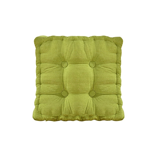 Allwin New Solid Color Square Chair Cushion Thickening Cushion