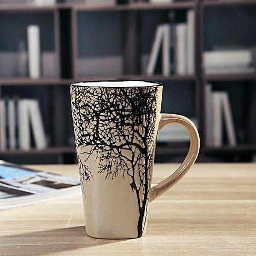 Latte Mug - Gold Branch