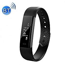 Fitness ID115 Heart Rate Smart Watch – Black